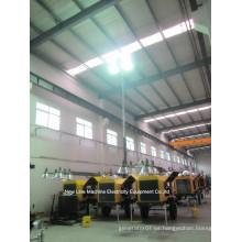 Torre de iluminación portátil del conjunto de generador (7-18kw)