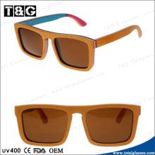 2014 Promotion Good Price China brand Designer Fashion Wooden Sunglass