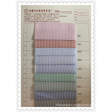 Oxford Woven Striped Shirt Fabric