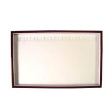 20 cajas de exhibición de madera elásticos de la joyería de la ranura (TY-WRL-20N)