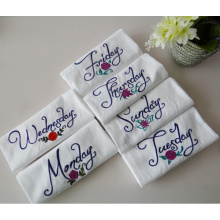 (BC-KT1012) High Quality Weekly 100% Cotton Cleaning Pad Kitchen Towel