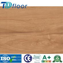 Plancher imperméable d'intérieur de planche de vinyle de PVC de prix usine