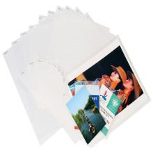 Material de oficina Protection Cove Card Base laminada Película