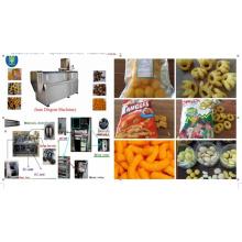 Extrudeuse chinoise de produit de casse-croûte gonflé de maïs d'usine bonne