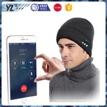 Nuevo sombrero al aire libre del bluetooth único del diseño de la llegada de China