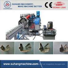Kettenantrieb verzinktem Stahl Dicke 1,5-2mm Weinberg Beitrag Kalt Rolle Formmaschine