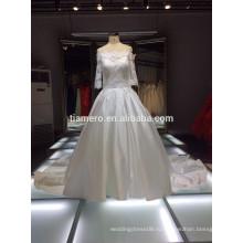 2015 элегантный напечатано во всем мире TiAmero свадебное платье