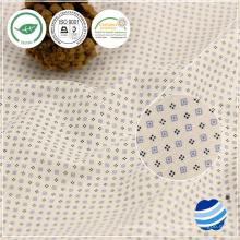 40x40 + 40D 110gsm t-shirt de algodão para homem design de tecido casual camisa