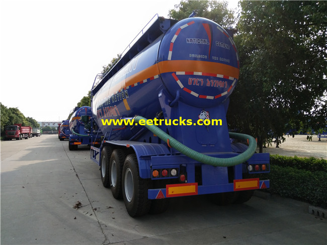 10000 Gallon Bulk Grain Trailers