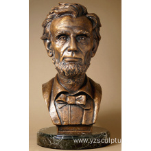 Lincoln Bronze Bust Artwork for Sale