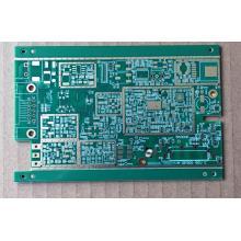 PCB de 10 camadas com 2,2 mm de espessura