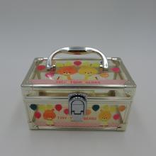 nuevo diseño de cajas de plástico organizador para niña