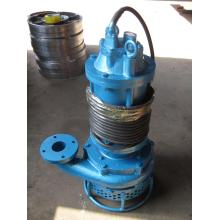 Submersible gravel slurry pump