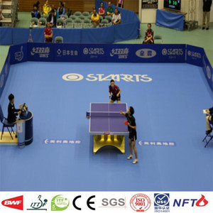 Manufactura de pvc Table Tennis Court Mat