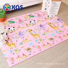 2018 Attractive design non-toxic baby activity play mat for sale