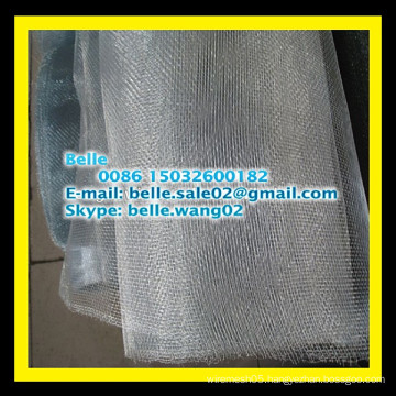 Equal wire tensile strength screen / galvanized mosquito net (ISO Anping YongWei Factory )