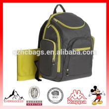 El pañal multifuncional de alta calidad empaqueta la bolsa de pañales de la mochila del bolso