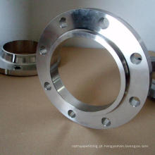 O En 1092-1 6061-T6 da flange das BS 4504 Pn10 Pn16 de alumínio aumentou flanges do Slip-on da cara