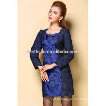 зимние повседневные платья для женщин Винтаж Грейс теплые зимние платья alibaba Китай 2015 Осень