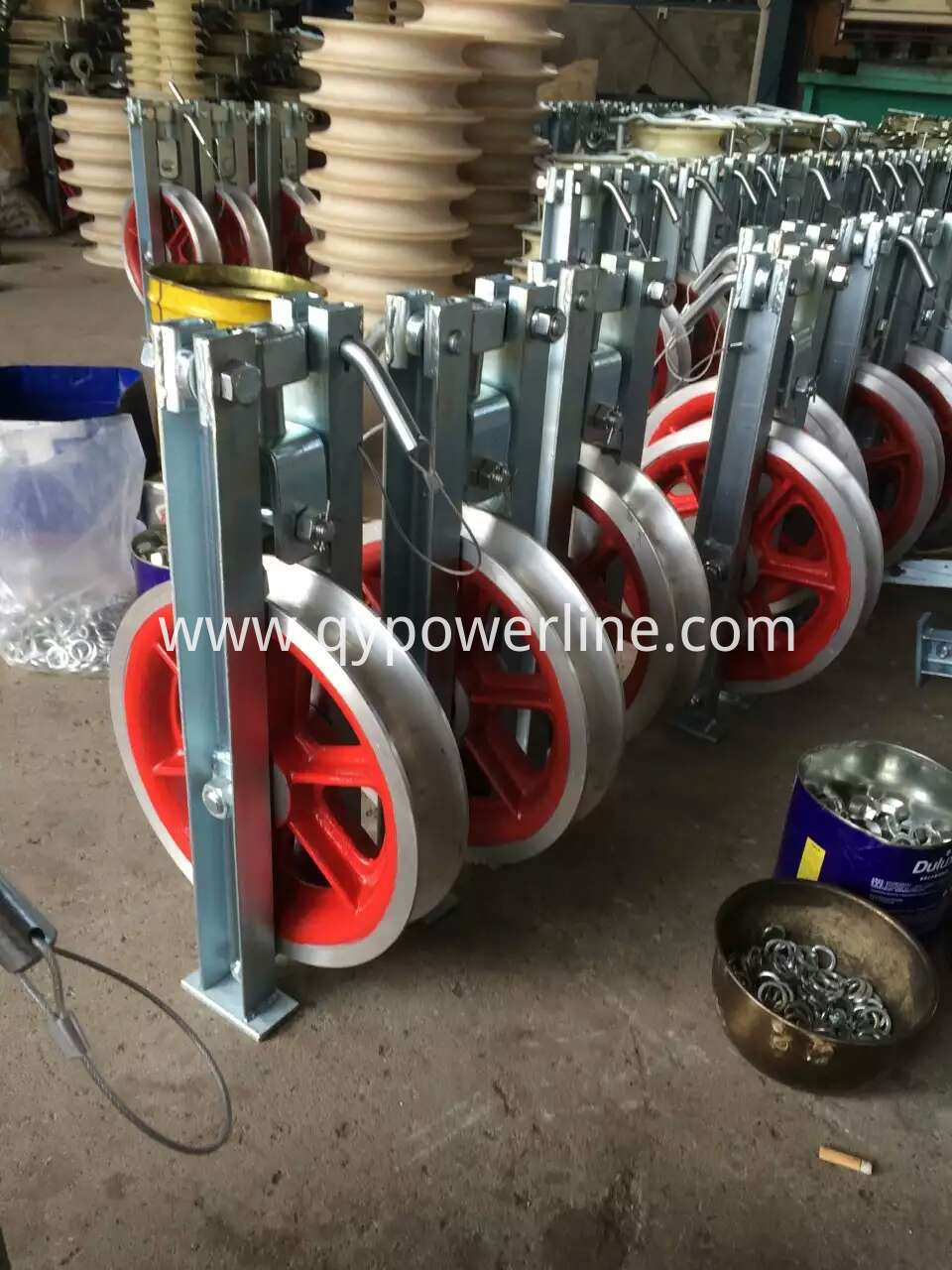 High speed Turning Stringing pulley