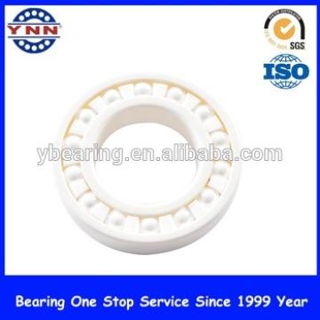 Blanco Zro2 / Negro Si3n4 rodamientos de bolas de cerámica profunda del surco (608)