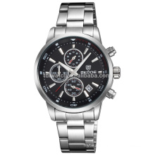 china factory 2016 High Quality skone stainless steel band watch