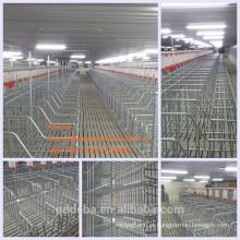 2018 criação de suínos uso quente galvanizado popular gestação crate porca