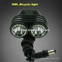 OWL 1800Lumens Cree xm-l2 luz led bicicleta
