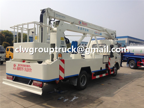 Truck Mounted 16m Boom Lift