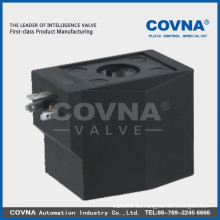 SD01B Bobina de electroválvula de plástico, 12V Bobina de solenoide, piezas de válvula solenoide
