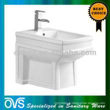 bidet de salle de bains en céramique avec trou de robinet unique Article: A5012