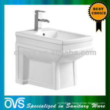 ceramic bathroom bidet with single faucet hole Item:A5012