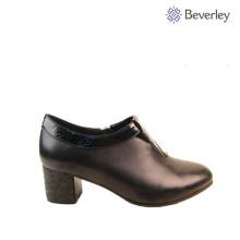 handgemachte Damen Leder Frühling Herbst Schuhe
