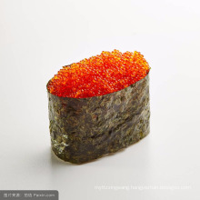 Japanese cuisine flying fish roe frozen red caviar