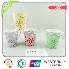 Tasse de cadeau en céramique / porcelaine avec conception de café