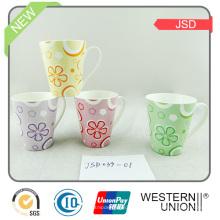 Hotselling Keramikbecher mit buntem Design