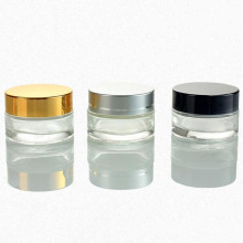 Aluminum Lid Glass Jar (NBG18)