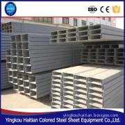 C beam/c purlin welded light steel factory/workshop