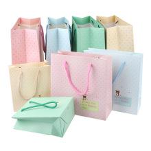 Bolsas de papel llanas de diferentes tamaños para la promoción