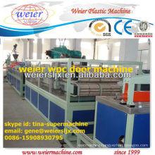 wpc hollow door extrusion machine