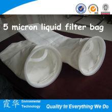 Bolsa de filtro líquido de 5 micron para filtração de líquidos
