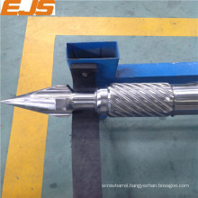 bimetallic injection moulding machine screw barrel