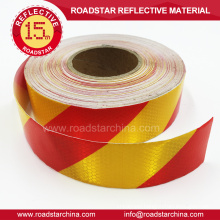 colorful honeycomb strip hi vis vehicle truck reflective tape