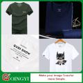 Personnaliser l'étiquette de soin lavable de logo de vêtement pour le T-shirt
