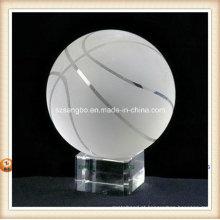 Beisebol de cristal para decoração de casa