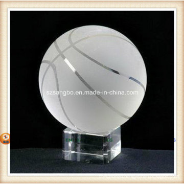 Crystal Baseball for Home Decoration