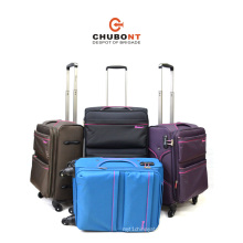 Chubont Hot Selling 4 Wheels Built-in Rolling Luggage Suitcases