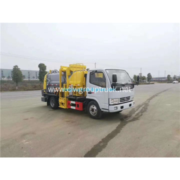 Cheap 4x2 RHD trash compactor waste truck