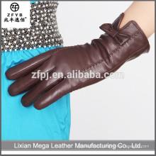 China al por mayor de las mujeres de encargo guantes de cuero mujer en alibaba