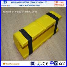 Protector de plástico para rack vertical